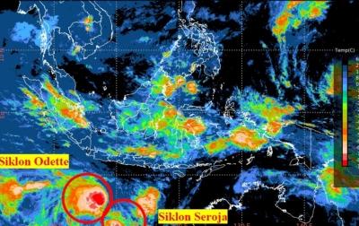 Selain Seroja, Waspadai Dampak Tidak Langsung Siklon Tropis Odette