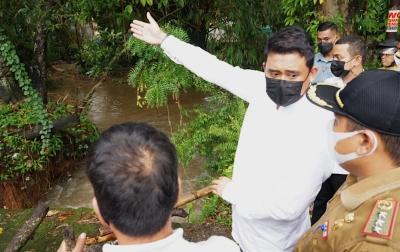 Atasi Sampah di Sungai Deli, Bobby Nasution Perintahkan Kadis Bentuk Tim