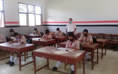 Sekolah di Tapanuli Utara Mulai Belajar Tatap Muka