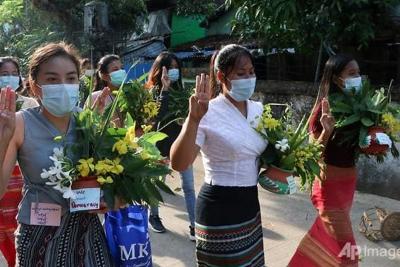 Aktivis Myanmar Batalkan Perayaan Tahun Baru
