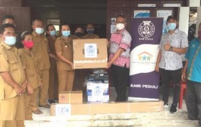 PT Aqua Farm Nusantara Serahkan Bantuan Pendidikan untuk Desa Pardamean Ajibata