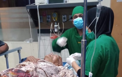 Pria Diduga Gangguan Jiwa di Tanjungmorawa Bacok Ayah Kandung