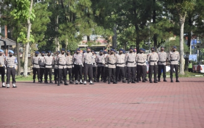 1.175 Personel Polda Sumut Amankan PSU di 3 Kabupaten