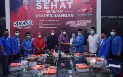 Djarot Saiful Hidayat Dorong KNPI Sumut Jadi Perisai Bangsa