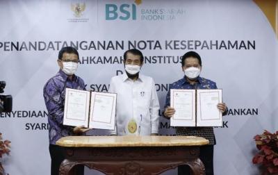 BSI Sediakan Layanan Perbankan Bagi Mahkamah Konstitusi