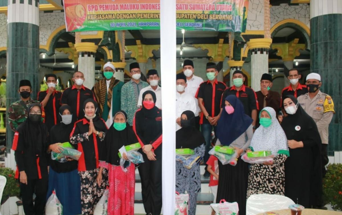 PMIB Sumut Beri Bantuan Kepada Masyarakat Hamparan Perak