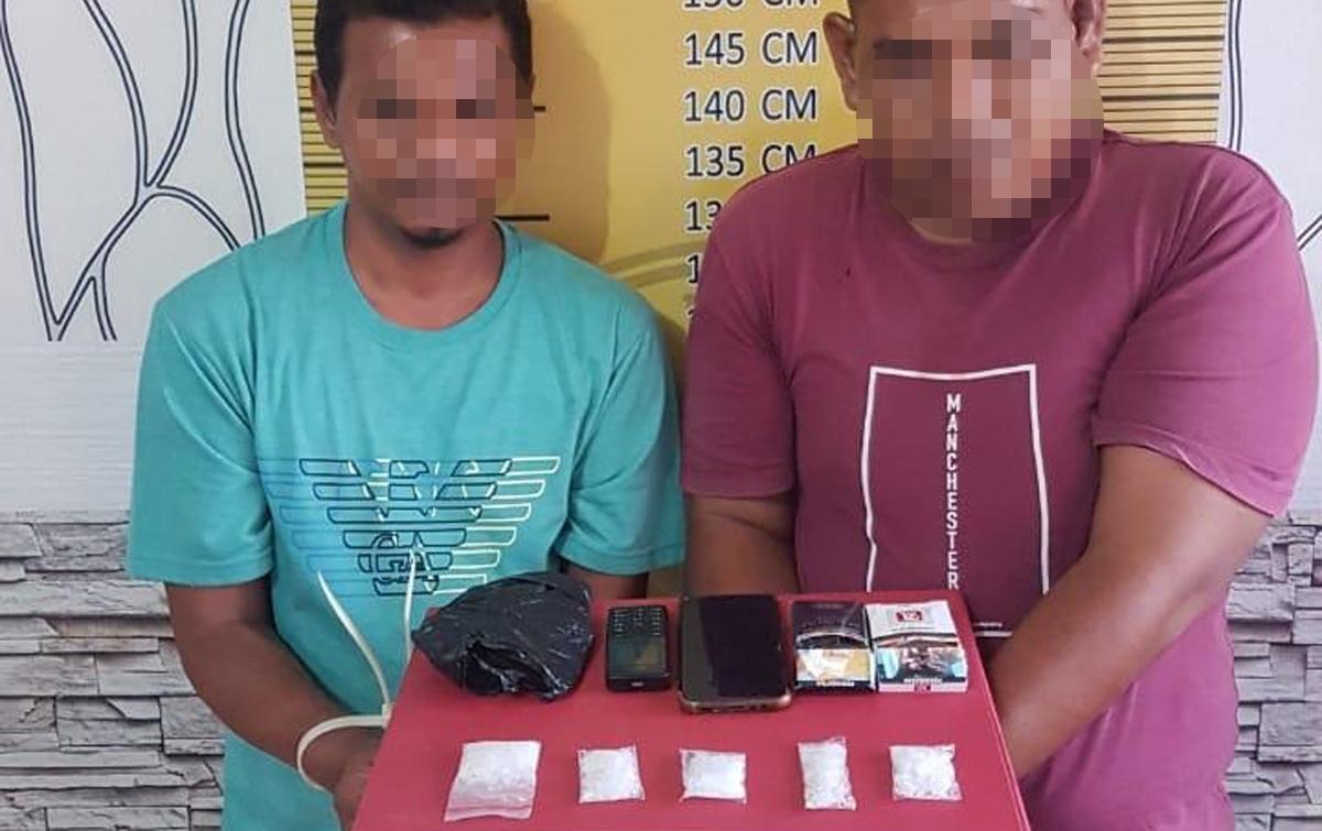 Dua Pengedar Sabu Ditangkap Polisi