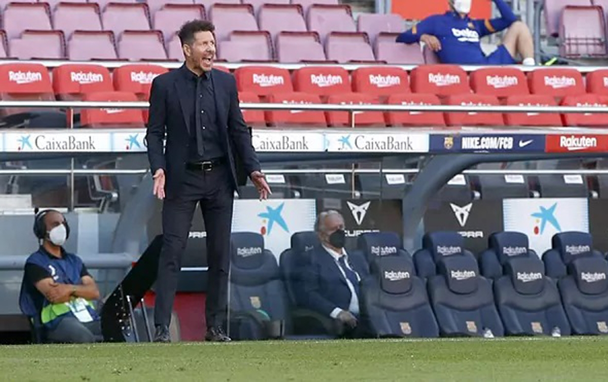 Simeone Tidak Akan Menonton Real Madrid vs Sevilla