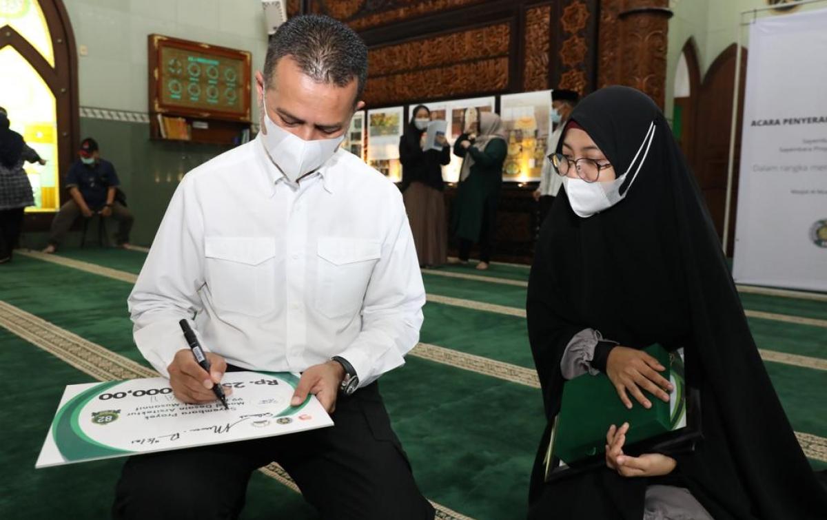 Yayasan Haji Anif Gelar 3 Sayembara Desain Arsitektur Masjid Al-Musannif