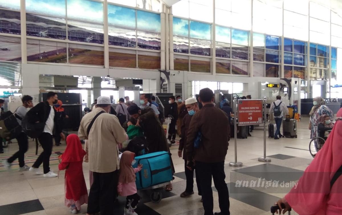 Penerbangan di Bandara Kualanamu Kembali Normal