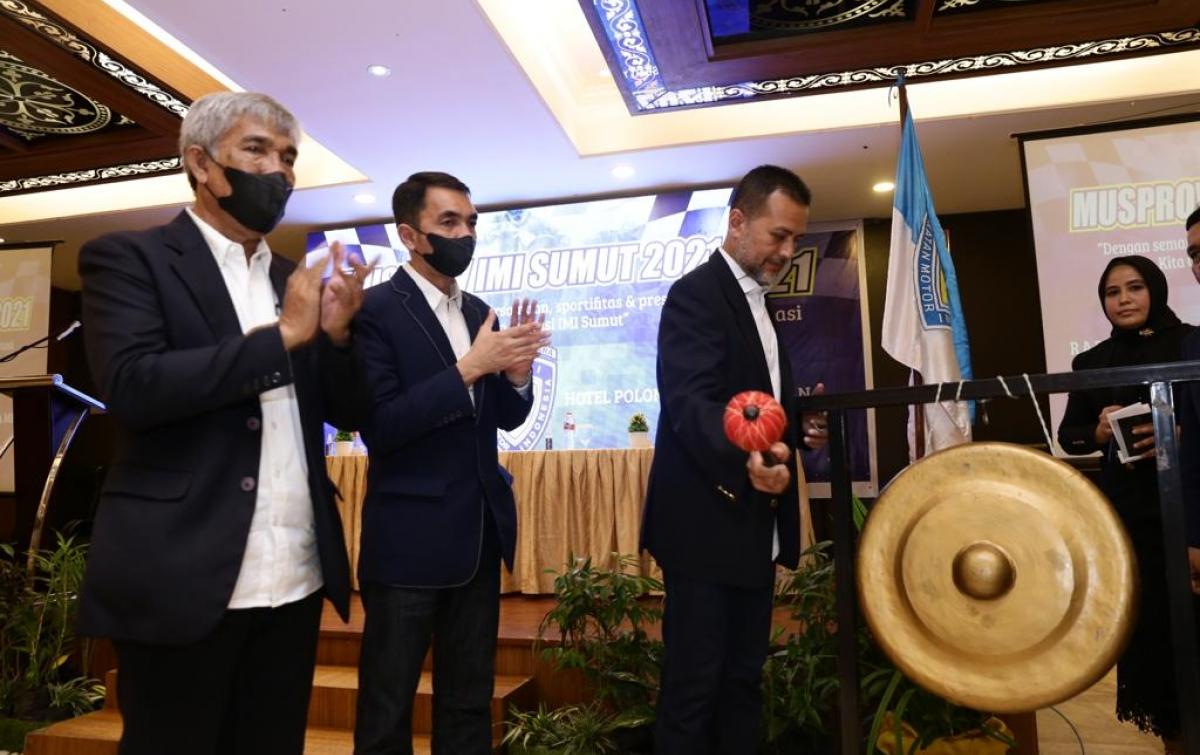 Harun Mustafa Terpilih Jadi Ketua IMI Sumut, Diharap Rangkul Semua Anggota