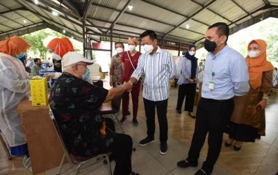 USU Sukses Vaksinasi Tahap II, Rektor Muryanto Amin: Perkuliahan Tatap Muka Digelar Hybrid