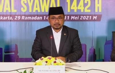 Pemerintah: Idul Fitri Jatuh Pada Kamis, 13 Mei 2021