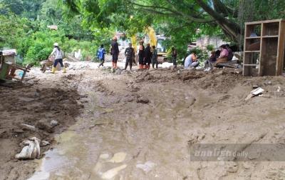 Banjir di Parapat Diduga Akibat Kerusakan Hutan