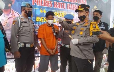 Kurir 1 Kilogram Sabu Ditangkap Polisi