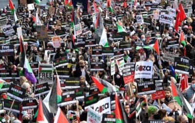 Aksi Solidaritas Untuk Palestina dari Seluruh Dunia