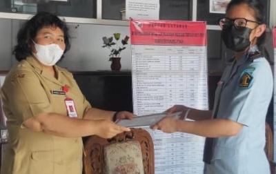 Lapas Siborongborong Terima Sertifikat Izin Operasional Klinik Layanan Kesehatan