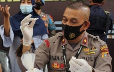 Polisi Tangkap Penjual Sabu
