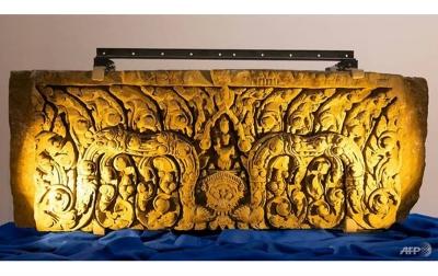 Artefak Berusia 1000 Tahun Milik Thailand Dikembalikan