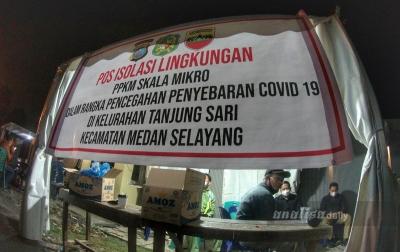 Posko Isolasi Lingkungan Beroperasi Hingga 7 Hari Kedepan
