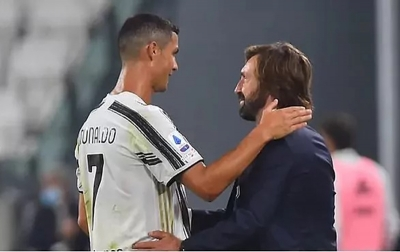 Ronaldo Kepada Pirlo: Terima Kasih Maestro