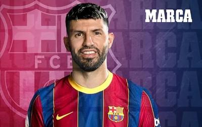 Aguero Resmi Berseragam Barcelona Hingga 2023