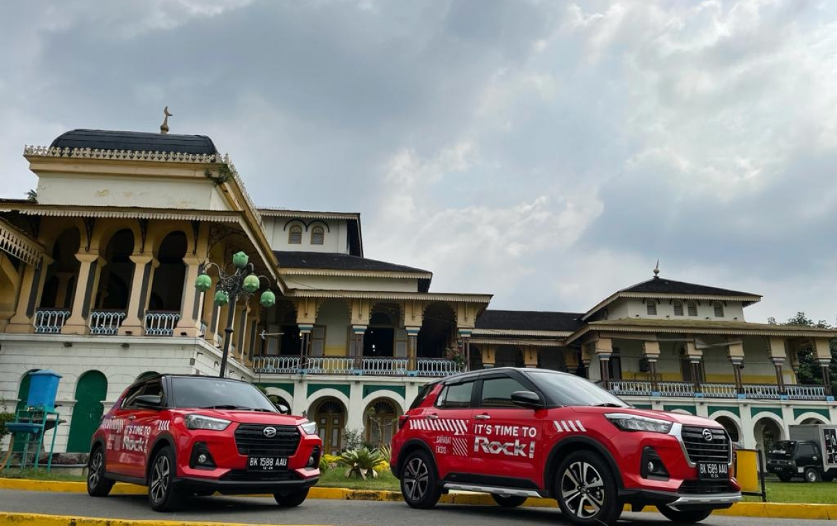 Daihatsu Rocky Mulai Mengaspal di Medan