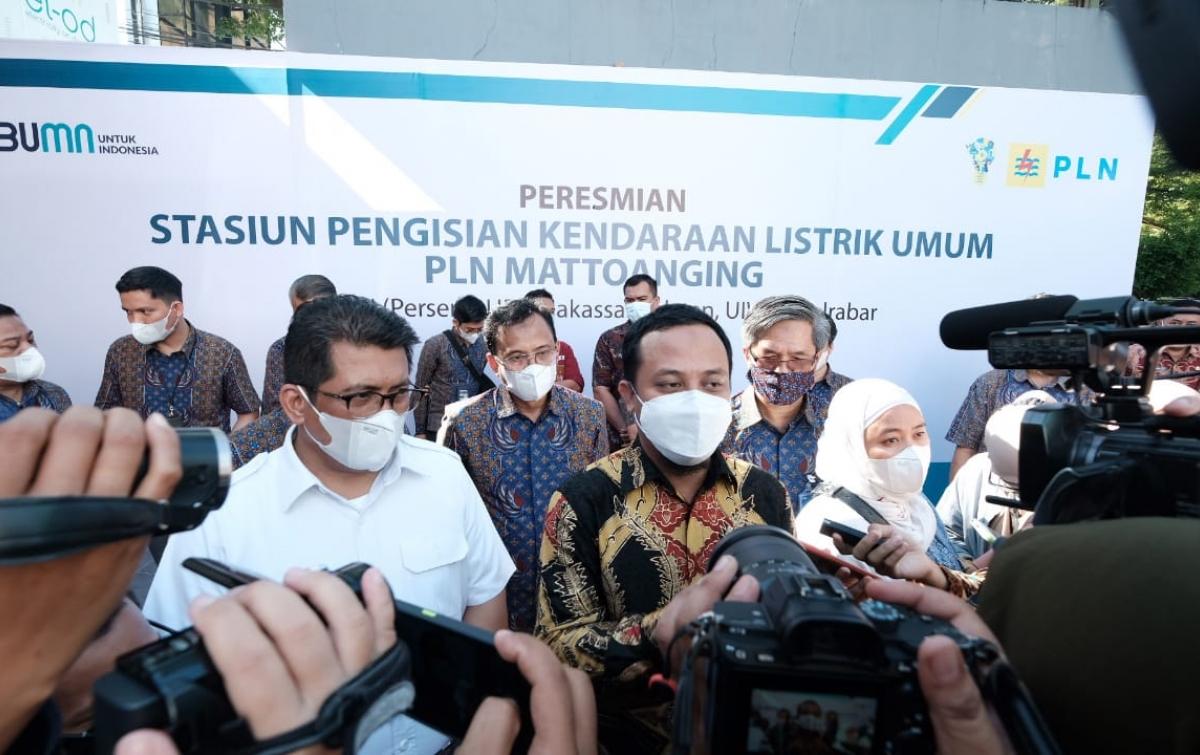 PLN Hadirkan SPKLU Pertama di Gerbang Indonesia Timur