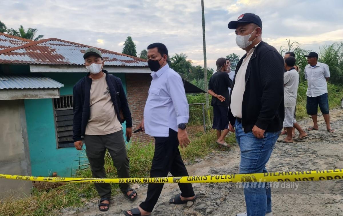 Tangani Kasus Penembakan Marsal Harahap, Kapolres Simalungun Cek TKP