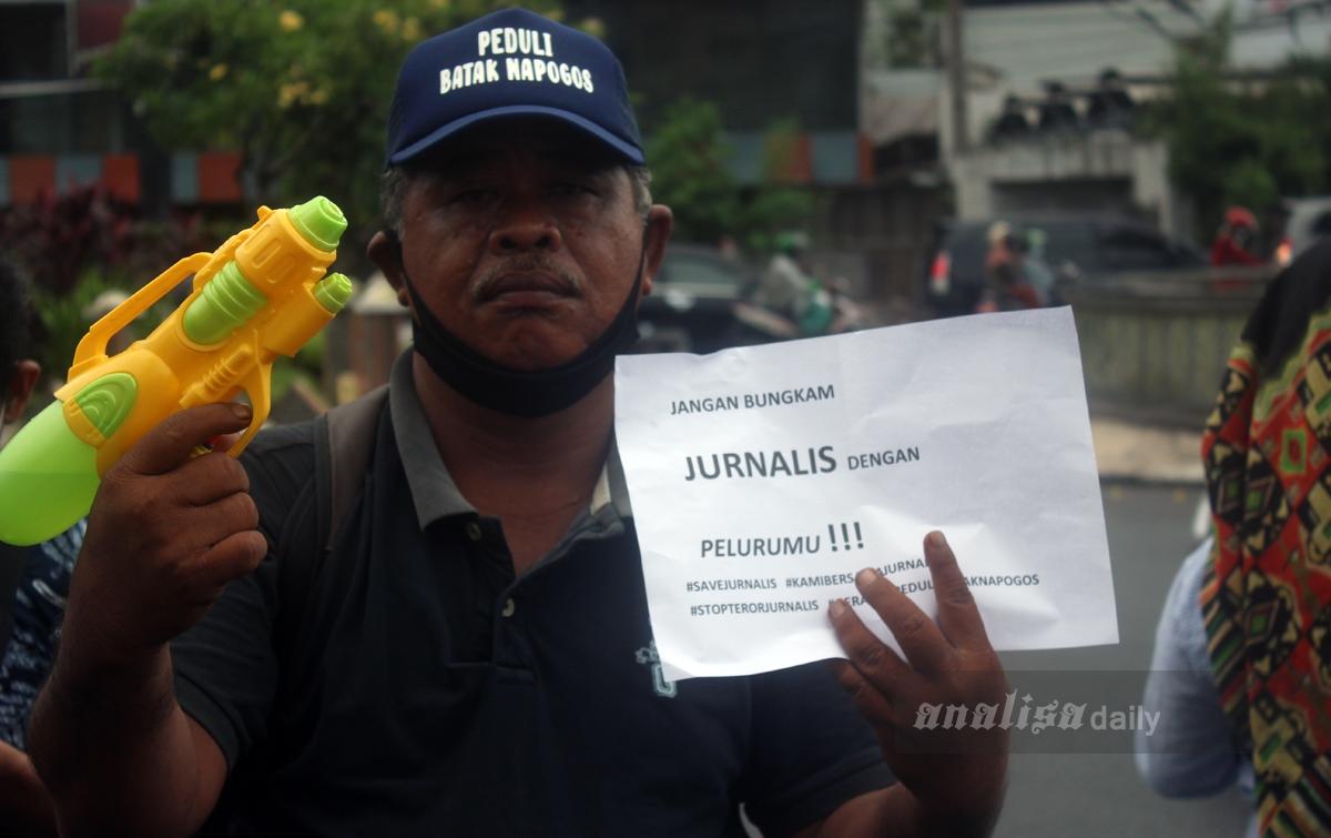 Foto: Kecam Penembakan Jurnalis