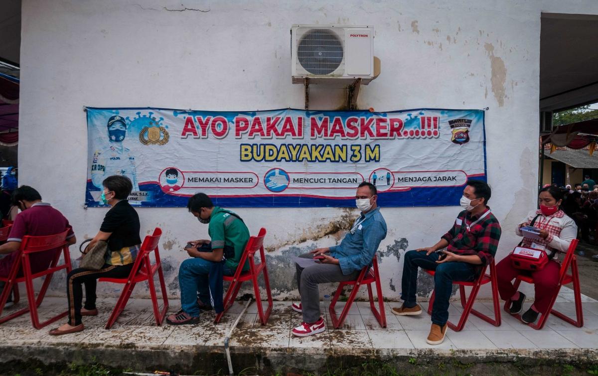 Warga Indonesia Penerima Vaksin Lengkap Bertambah 142.834 Jiwa