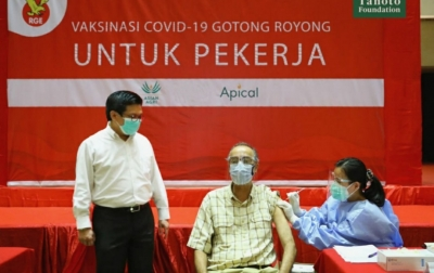 Asian Agri Laksanakan Vaksinasi Gotong Royong