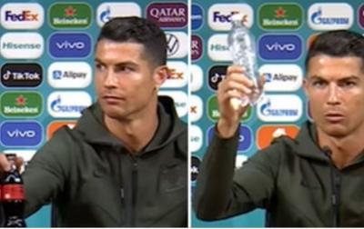 Pasca Aksi Ronaldo, Saham Coca Cola Menurun