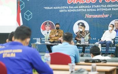 BEM Nusantara Gelar Dialog Publik Hadirkan Wali Kota Medan dan Ketua KNPI Sumut