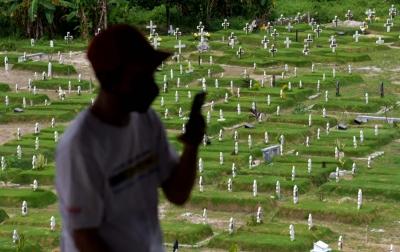 Kasus Penularan Covid-19 di Indonesia Capai Rekor Tertinggi Selama Pandemi