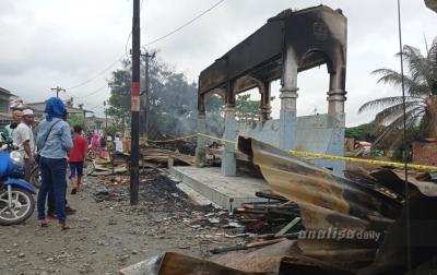 Kebakaran Hanguskan 10 Bangunan di Aceh Tamiang