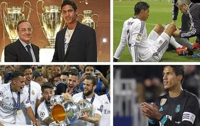 Real Madrid Berharap Tidak Kehilangan Raphael Varane