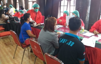 Gelar Vaksinasi Massal, Masyarakat Taput Apresiasi Kapolda Sumut