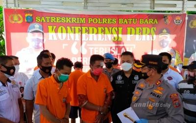 2 Sindikat Pencuri Antarprovinsi Ditangkap Polisi