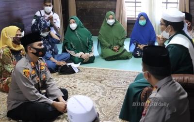 Kapolres Langkat Kunjungan Silaturahmike Kediaman Tuan Guru Babussalam