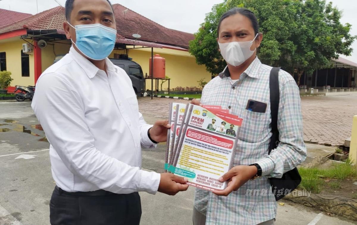 PPKM Darurat, Tunda Berpergian ke Kota Medan