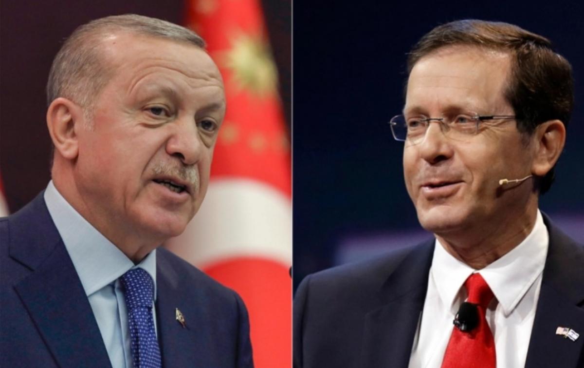 Bahas Palestina, Erdogan Telepon Presiden Israel yang Baru