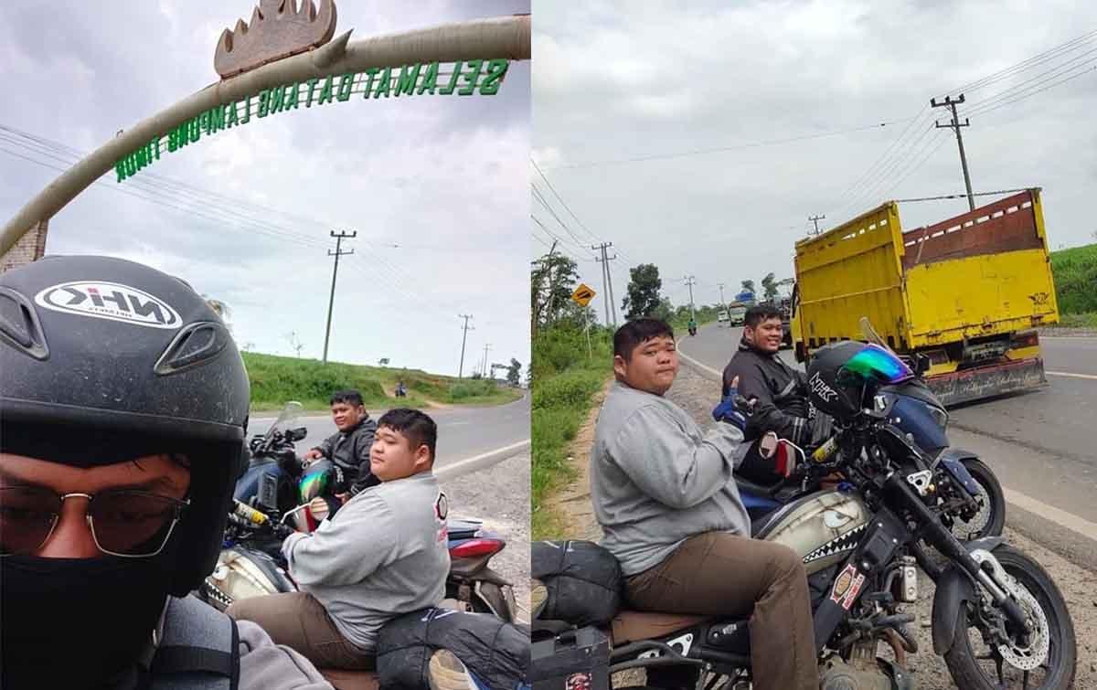 Jajal Ketangguhan Yamaha XSR 155, Eric Jelajahi Sumatera dan Jawa