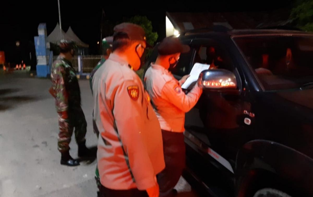 Penyekatan di Perbatasan Aceh-Sumut Diperketat, 113 Kendaraan Diputar Balik