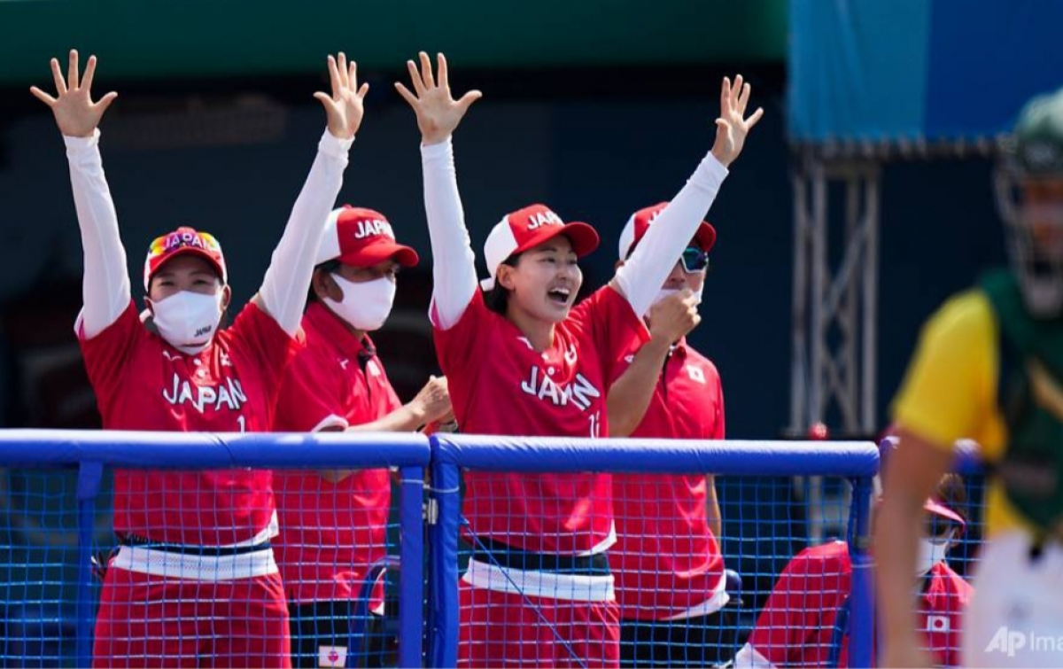 Tim Softball Wanita Jepang Awali Olimpiade dengan Kemenangan