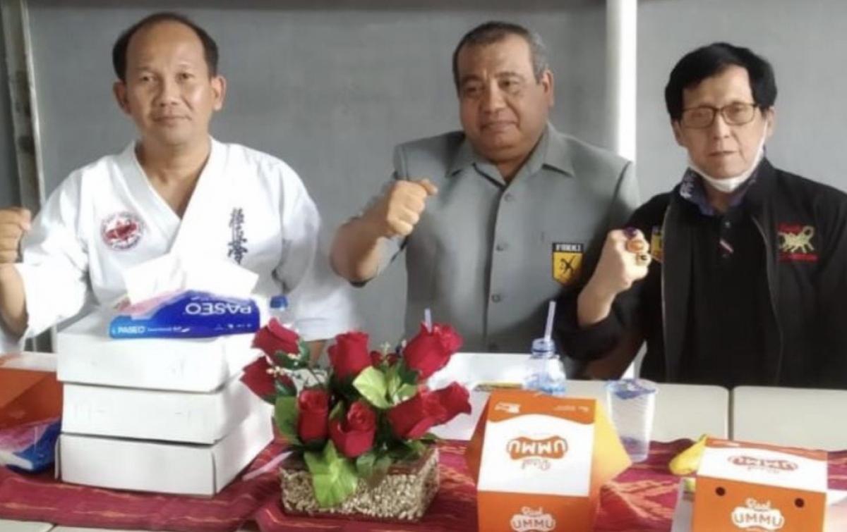 Pandemi Covid-19, Perguruan Karate Kala Hitam Tak Pernah Latihan Gabungan