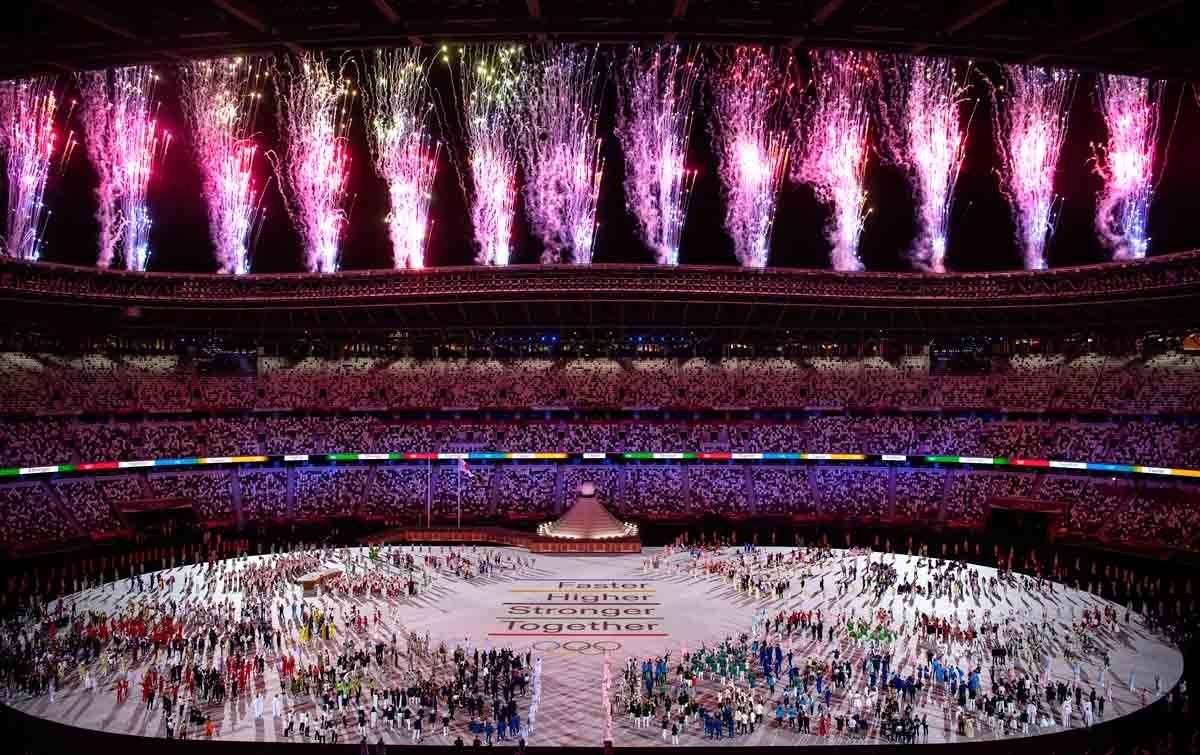 Foto: Pembukaan Olimpiade Tokyo 2020