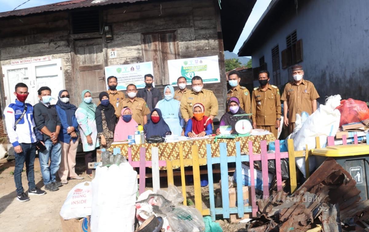 Program Bank Sampah Sejalan dengan Pencanangan Desa Wisata Agro