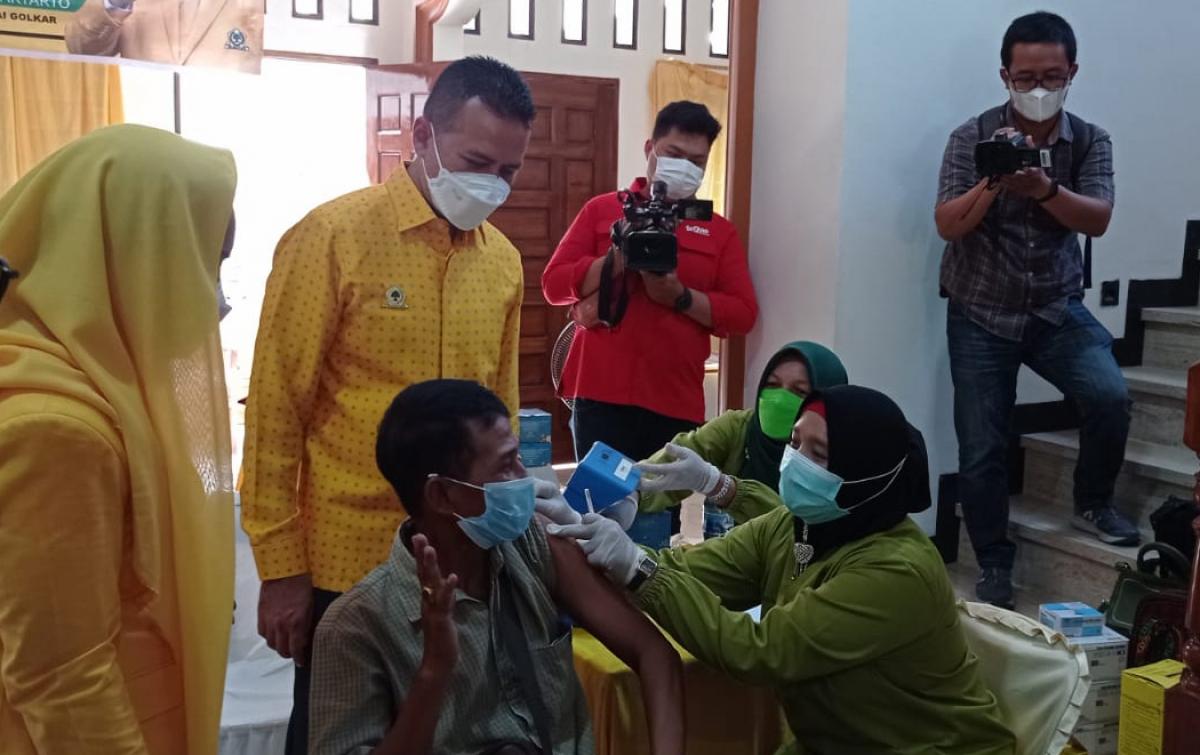 Musa Rajekshah Resmikan Yellow Clinic Pertama di Sumut, Ajak Masyarakat Ikut Vaksin