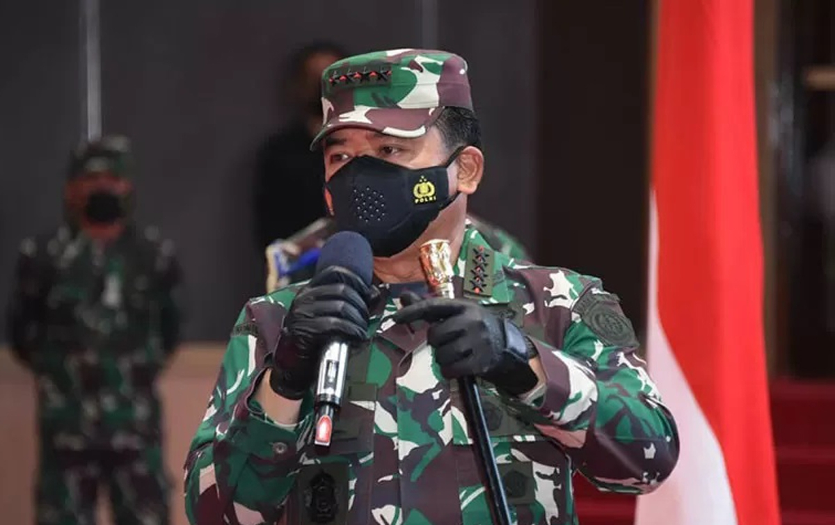 Panglima TNI Perintahkan Kasau Copot Danlanud JA Dimara